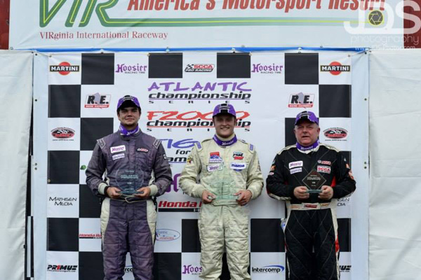 Father and Son Meet on Podium at VIR