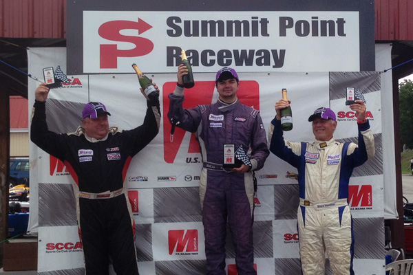 GK Motorsports Finishes SCCA Majors Eastern Conference Season with a 1-2 Sweep, a Championship and a New Track Record
