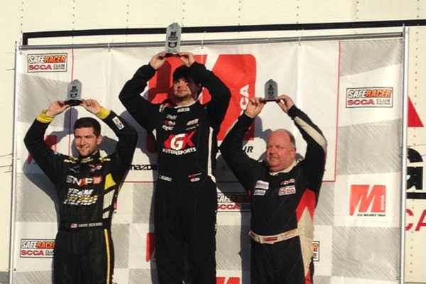 Conner Kearby wins 3rd Formula Atlantic Majors race of the season at Sebring